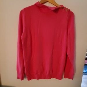Liz Claiborne New York NWT Pink Sweater - L
